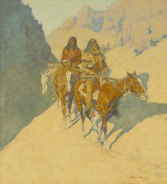 Sid Richardson Museum: The Unknown Explorers by Frederic Remington