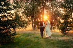 Stone Barn Ranch Wedding Venue located in Sheridan, California | Bride & Groom | Sunset | Outdoor Wedding Ceremony | Outdoor Wedding Reception | Barn Wedding | Country Wedding