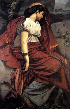 Medea by Anselm Feuerbach (1829-1880)