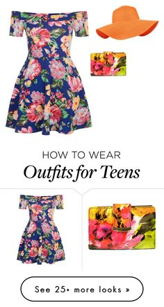 """""""Creative Eclectic - Youth Look"""" by wittnermoodboards on Polyvore featuring New Look, Mundi and Accessorize"""