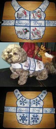 Make a dog coat! We have more than one free pattern for a dog coat!