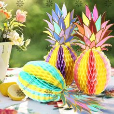 14pcs Summer Party Decor Photo Booth Props Decor Beach Pool Luau Tropical Jungle Leaves Lemon Swimming Party Cool Photo Supplies Event & Party Festive & Party Supplies