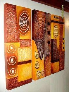 Art N Craft, Diy Art, Abstract Canvas, Canvas Wall Art, Mural Art, Painting Inspiration, Modern Art, Art Projects, Art Drawings