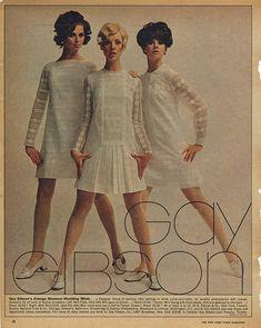 ADSAUSAGE - vintage advertising. Regine Jaffrey, Cay Sanderson and Colleen Corby.