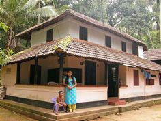 Beautiful homes kerala beautiful homes in houses beautiful space interior architecture interior ideas dream homes house . Indian Home Design, Indian Home Decor, Diy Home Decor, Kerala Traditional House, Traditional House Plans, Traditional Homes, Village House Design, Village Houses, Beautiful Villas