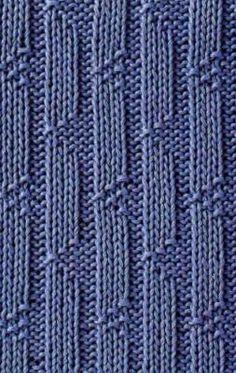 Вязание спицами: узоры для начинающих | LS