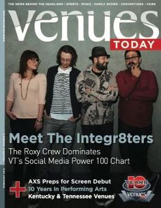 Venues Today February 2012 cover - Social Media Power 100 Chart inside, we ranked 47th. 2013 goal: rank #1.