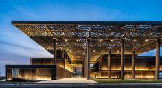 International Congress Centre in Dakar. A project by Tabanlioglu Architects from Turkey - Attitude Interior Design Magazine Backyard Canopy, Garden Canopy, Diy Canopy, Canopy Outdoor, Canopy Tent, Hotel Canopy, Window Canopy, Beach Canopy, Fabric Canopy
