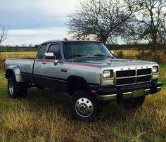 Dodge Dually, Dodge Cummins Diesel, 1st Gen Cummins, Dodge Pickup, Dually Trucks, Dodge Trucks, Lifted Trucks, Pickup Trucks, Mopar