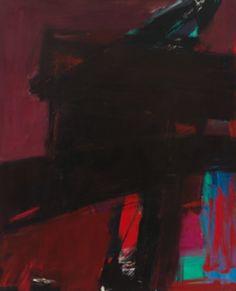 Franz Kline, 'Dahlia' (1959) Franz Kline. Franz Kline Paintings, plastic arts, visual arts, art, abstract expressionism