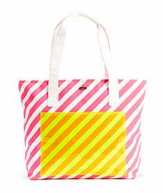 Ban.do Super Chill Cooler Bag - Ticket Stripe