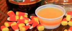 Candy Corn Jello Shots Don't be fooled by other Candy Corn jello shots recipes. It's all about that TASTE! Your Jellinator friends got it right for you. Candy Corn Jello Shots, Jello Pudding Shots, Halloween Jello Shots, Halloween Food For Party, Halloween 2014, Clean Recipes, Cooking Recipes, Jello With Fruit, Liquor Shots
