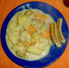 Spitzkohl - Kartoffel - Eintopf, ein sehr schönes Rezept aus der Kategorie Eintopf. Bewertungen: 39. Durchschnitt: Ø 4,2.