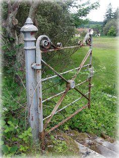 Old Rusty Gate | by Lynn Laidlaw