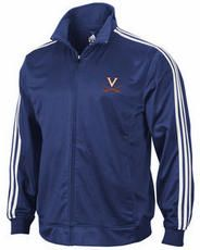 Virginia Cavaliers adidas Navy 3-Stripe Track Jacket at Modell's