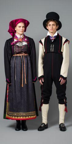 Vest Telmark Bringeklut-o-Graatroye_helfigur. Folk Costume, Costume Dress, Costumes, Frozen Costume, Nordic Style, People Of The World, Traditional Outfits, Nordic Fashion, Character Design