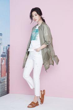 Zishen 18SS Woman Visual Cut with actress #HanHyoJoo #지센 #zishen #DearMyLife #LiveLaughLove #한효주