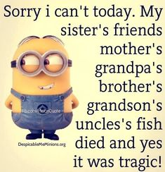 Here we have some of Hilarious jokes Minions and Jokes. Its good news for all minions lover. If you love these Yellow Capsule looking funny Minions then you will surely love these Hilarious jokes…More Minion Humour, Funny Minion Memes, Minions Quotes, Crazy Funny Memes, Stupid Funny, Funny Jokes, Funny Insults, Funny School Jokes, Sarcastic Humor