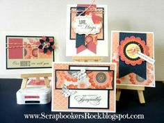 "Scrapbookers rock: CTMH ""Claire"" cards  http://shellyw.ctmh.com/Retail/Products.aspx?CatalogID=1895"