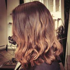 long bob soft ombre #salonbeau #thesalonbeau #long #bob #lob #ombre #soft #bayalage #waves #beachy #wave #curls #brunette #dark #blond #light #brown #hair #salon
