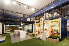 Levis Let's Colour Exhibition Stand by A&B Project at Batibouw 2016, Brussels – Belgium » Retail Design Blog