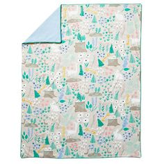 Deep in a mystical forest, we heard stories of a nature duvet featuring a…