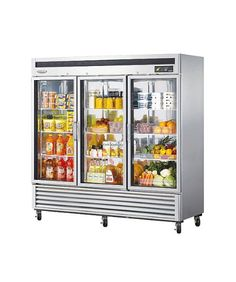 Turbo Air MSR72G3 72 cuft Refrigerator with 3 Glass Doors Digital Temperature Control System High Tech Monitor HighDensity Polyurethane Insulation and Stainless Steel Cabinet *** See this great product.  This link participates in Amazon Service LLC Associates Program, a program designed to let participant earn advertising fees by advertising and linking to Amazon.com.