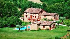 Prestigious agrituristic business for sale in Marche, Gualdo, Macerata Province Country Homes For Sale, Restored Farmhouse, Real Estate Agency, Tuscany, Swimming Pools, Restoration, Villa, Relax, Italy