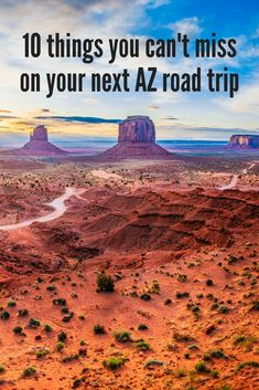 Here are 10 suggestions for your next Arizona road trip itinerary. Map out your next southwestern adventure by adding these fun stops to your trip.