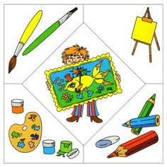 Crafts,Actvities and Worksheets for Preschool,Toddler and Kindergarten.Free printables and activity pages for free.Lots of worksheets and coloring pages. Preschool Education, Preschool Learning, Preschool Activities, Puzzles Für Kinder, Puzzles For Kids, Community Workers, Community Helpers, Puzzle Crafts, Kindergarten