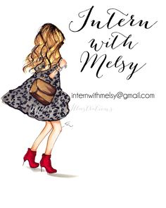 FASHION INTERNS WANTED!! EMAIL INTERNWITHMELSY@GMAIL.COM FOR MORE INFO