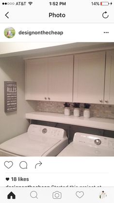 another idea for shelf with tile above