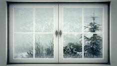 snowy window scene graphic - Google Search