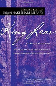 King Lear The New Folger Library Shakespeare