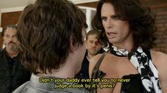 """Funniest SOA episode ever! Love Walton freakin Goggins. """"Didn't your Daddy ever teach you not to judge a book by its penis?"""""""