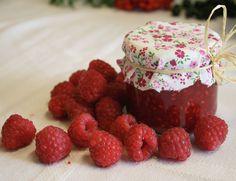 no Base Foods, Plant Based Recipes, Nom Nom, Raspberry, Pudding, Marmalade, Custard Pudding, Puddings, Raspberries