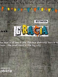 Taken from the 'Destination Grácia' issue of Porktie Magazine Barcelona