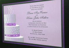 #WeddingCake #Invitation