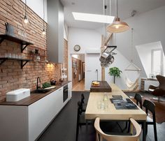 cozinha-com-parede-de-tijolinho