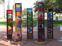 glass totems - Google Search -  (tdming's photobook on Flickr)
