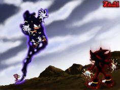 Shadow Vs Dark Sonic by grim-zitos on DeviantArt