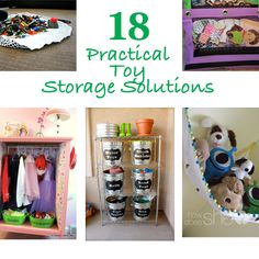 18 Practical Toy Storage Solutions howdoesshe.com