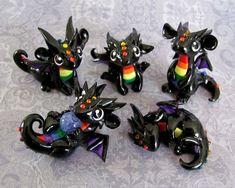 More Baby Rainbow Dragons by DragonsAndBeasties.deviantart.com on @deviantART: