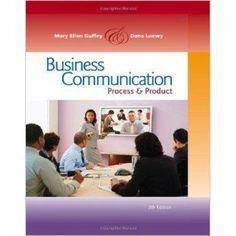 Business Communication: Process and Product (International Edition)