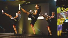 """Les Mills – Knowledge – BODYCOMBAT<sup class=""""trademark"""">™</sup> and core training Les Mills Combat, Body Combat, Martial Arts Workout, Group Fitness Classes, Club Design, Mixed Martial Arts, Way Of Life, Knowledge, Core"""