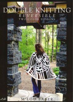Double Knitting Reversible Two-Color Designs 双面针织:可逆的双色设计 - 壹一 - 壹一的博客