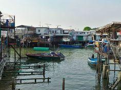 Escapade de Hong Kong - Le village sur l'eau de Tai O
