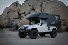 ActionCamper turns your four-door Jeep Wrangler into an off-road RV for two