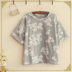 Buy 'Fairyland – Floral Print Short-Sleeve T-Shirt' with Free International Shipping at YesStyle.com. Browse and shop for thousands of Asian fashion items from China and more!