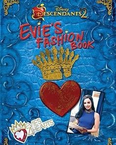 "Cover of the new #Descendants2 book ""Evie's Fashion Book."" I can't wait to read it @sofiacarson"